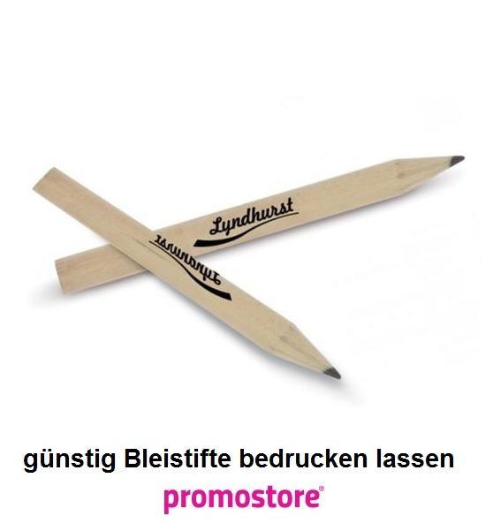 Bleistifte bedrucken lassen