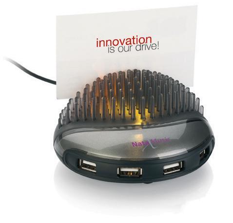 USB-Hubs mit Werbeaufdruck