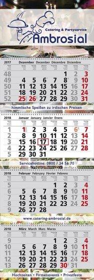 4-Monats-Werbe-Kalender günstig kaufen bei Promostore