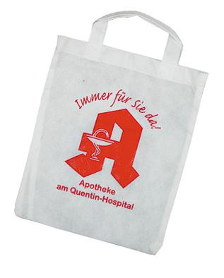 Aphothekertaschen bedruckt mit Logo