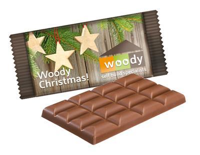 günstige Schokolade mit Logo bedruckt