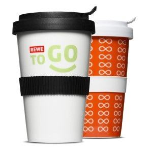 Der Coffe2Go Becher von Mahlwerck Porzellan