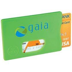 RFID kaarthouder met logo bedrukt
