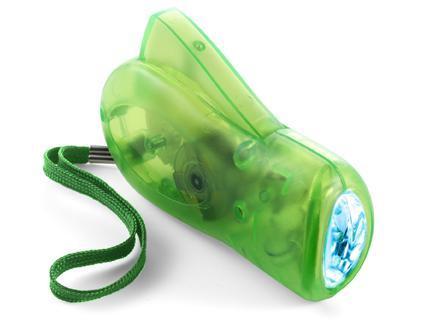 Grüne Dynamo Taschenlampe günstig bestellen