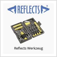 Reflects Werkzeug mit Logo