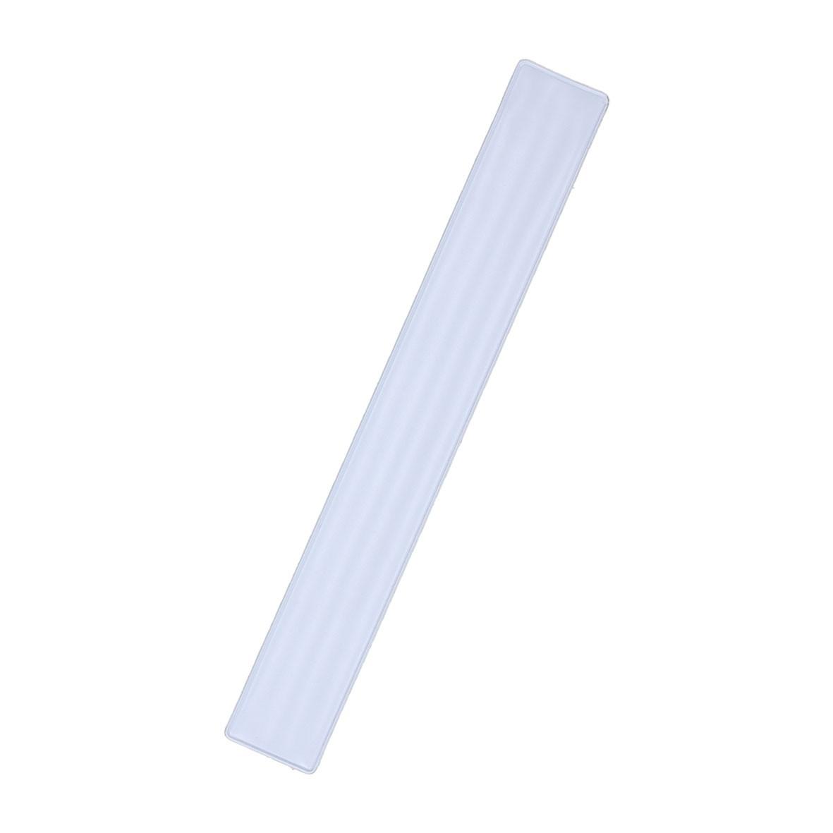 "Snap-Armband ""Clacky"" 22 cm weiß"