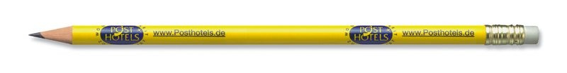STAEDTLER runder Bleistift mit Radiertip