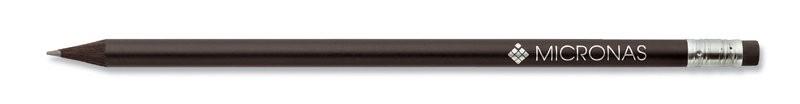 STAEDTLER Bleistift schwarz durchgefärbt mit Radiertip