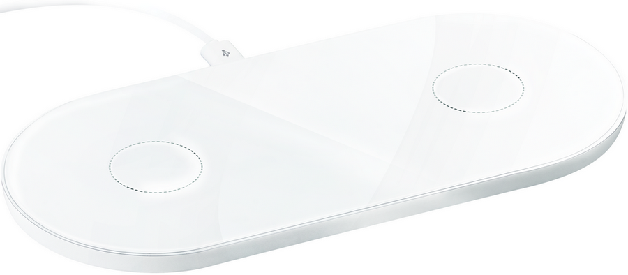 Twin wireless charger