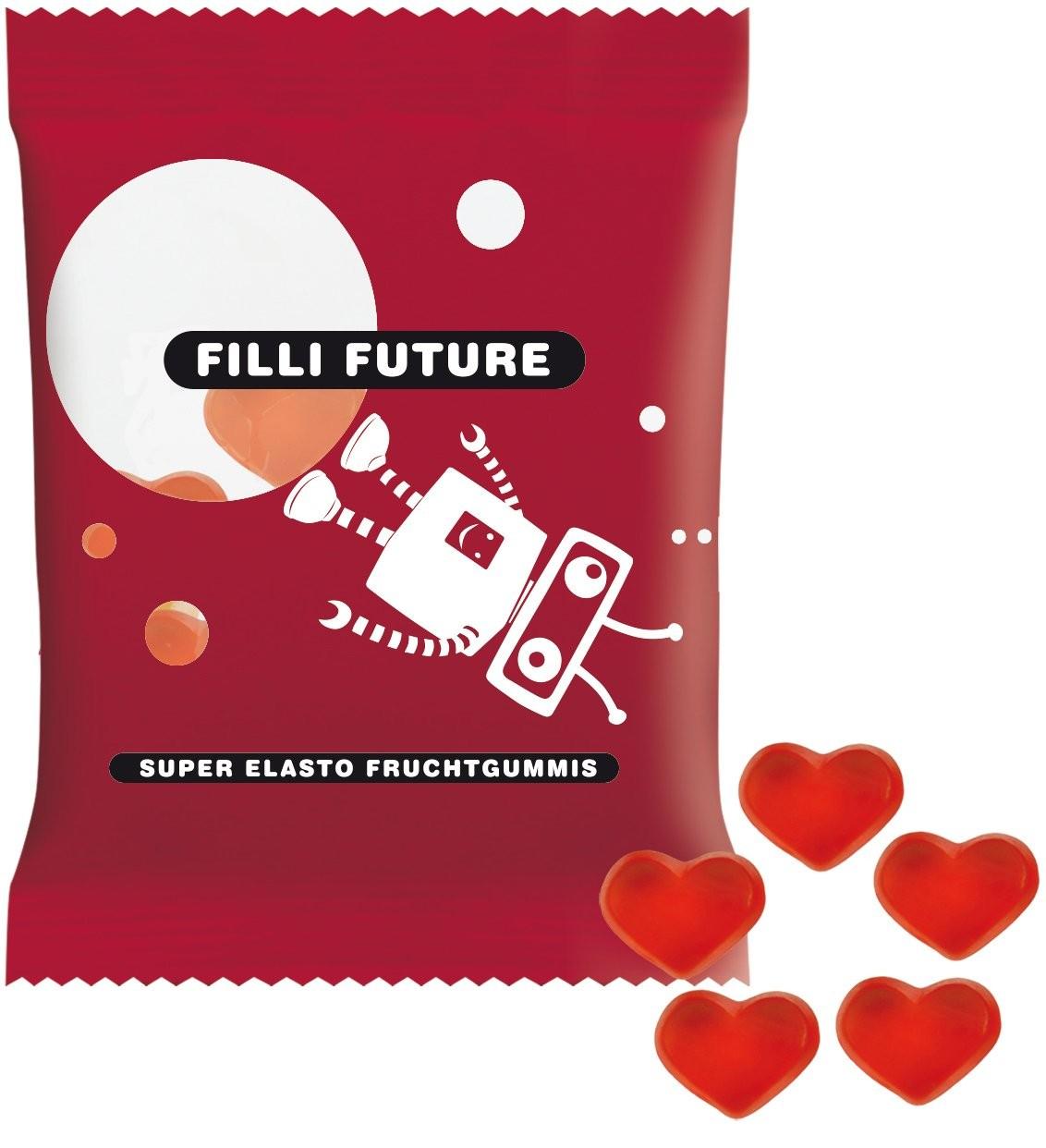 Haribo Mini-Herzen, rot