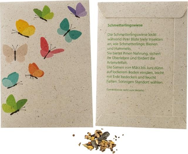 Samentütchen Graspapier 82 x 114 mm