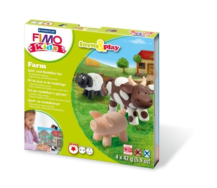 "STAEDTLER FIMO kids Modellierset ""form&play"""