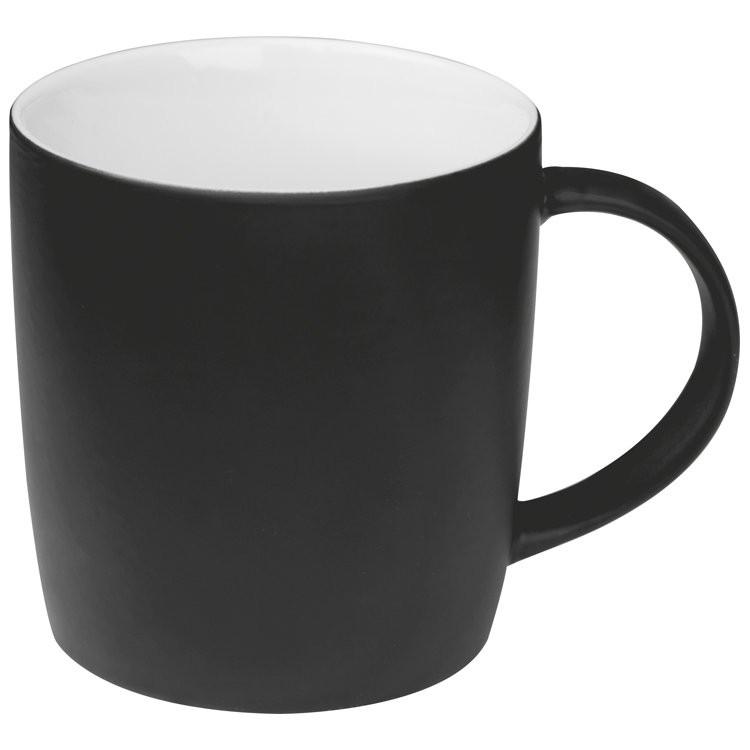 Tasse außen gummiert