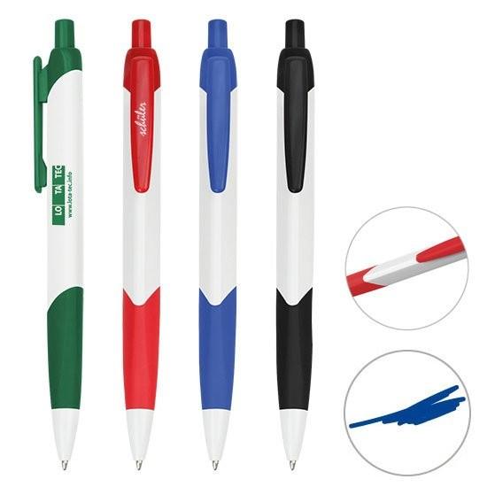 Druckkugelschreiber 3-eckig, Ansicht 2