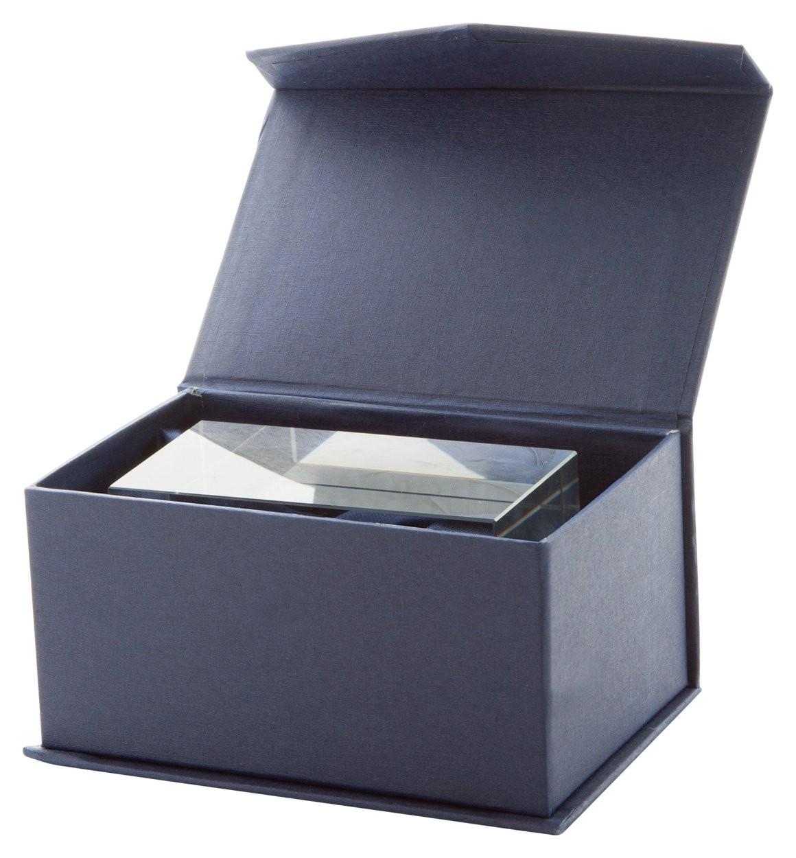 Glas-Quader Macon, Ansicht 2