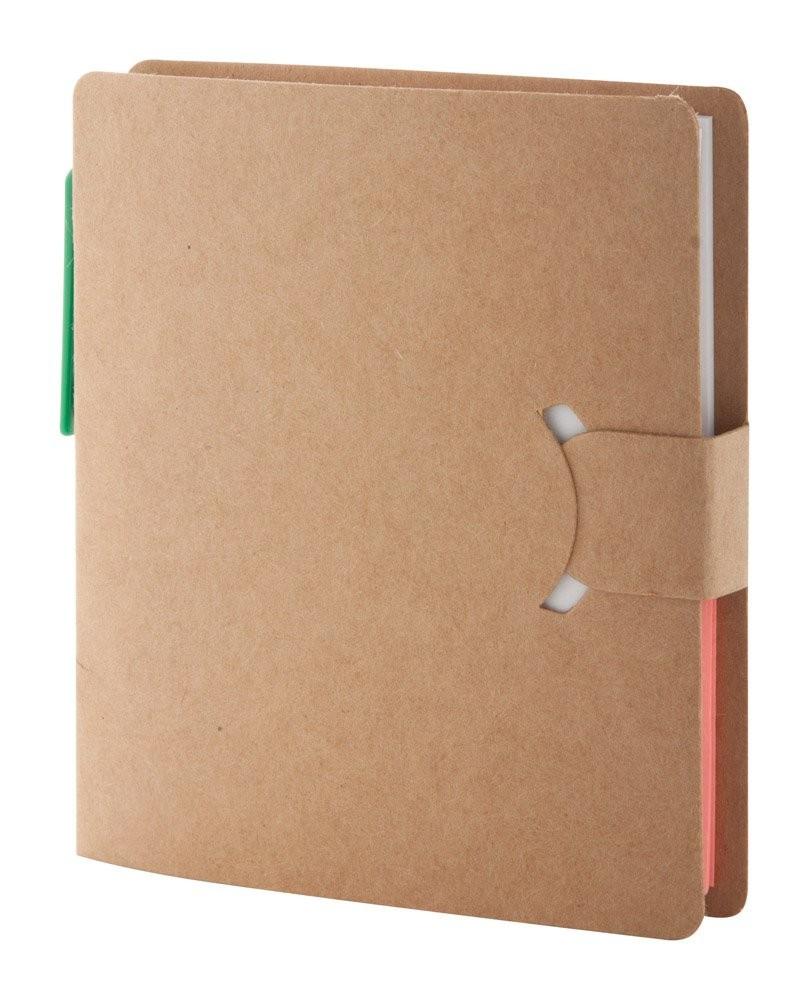 Notizheft aus Recycling Papier. Econote, Ansicht 3