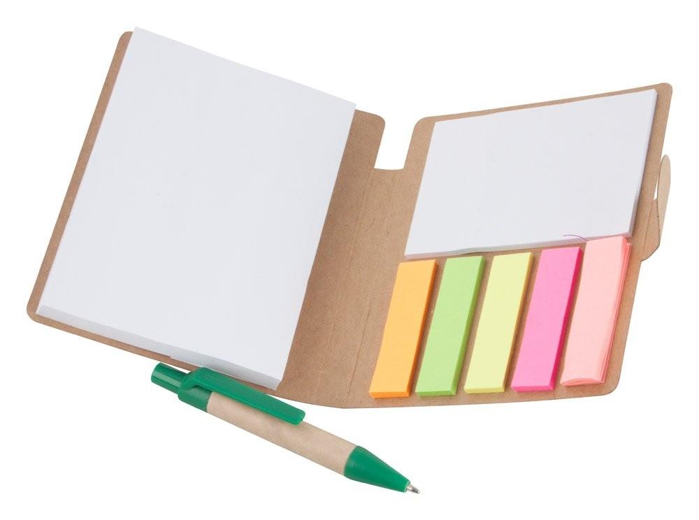 Notizheft aus Recycling Papier. Econote, Ansicht 2