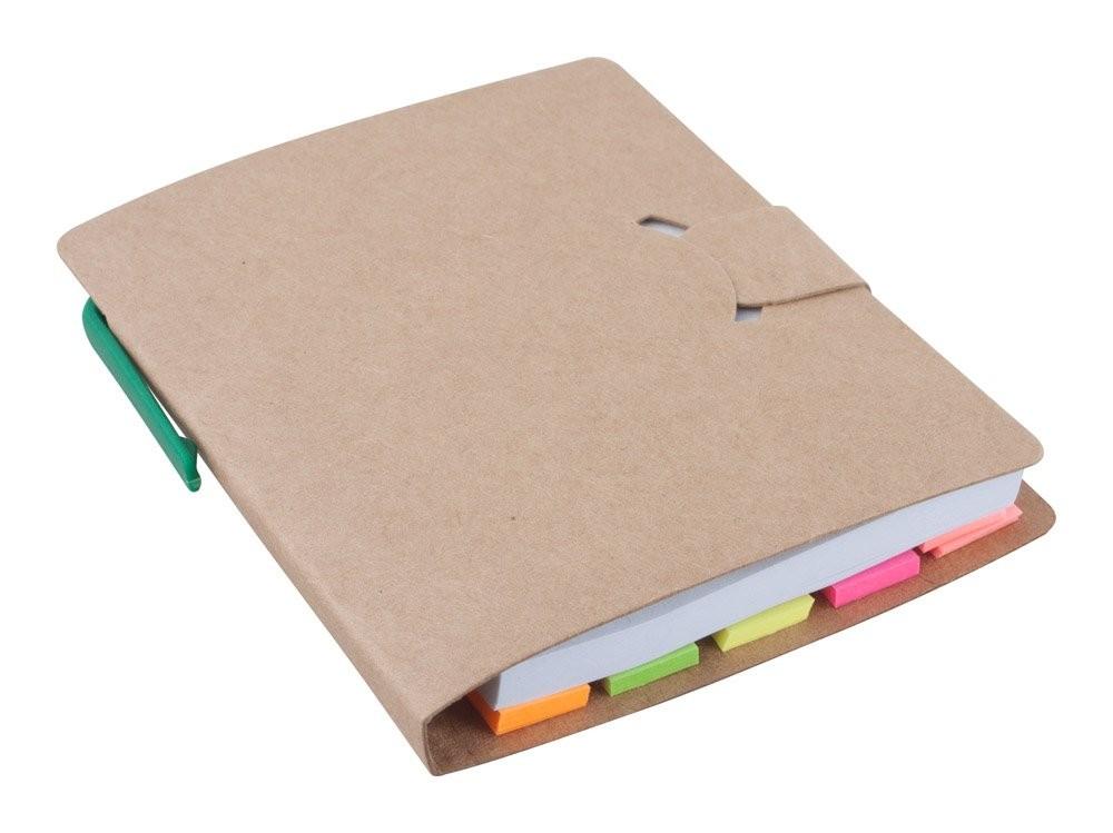 Notizheft aus Recycling Papier. Econote, Ansicht 4