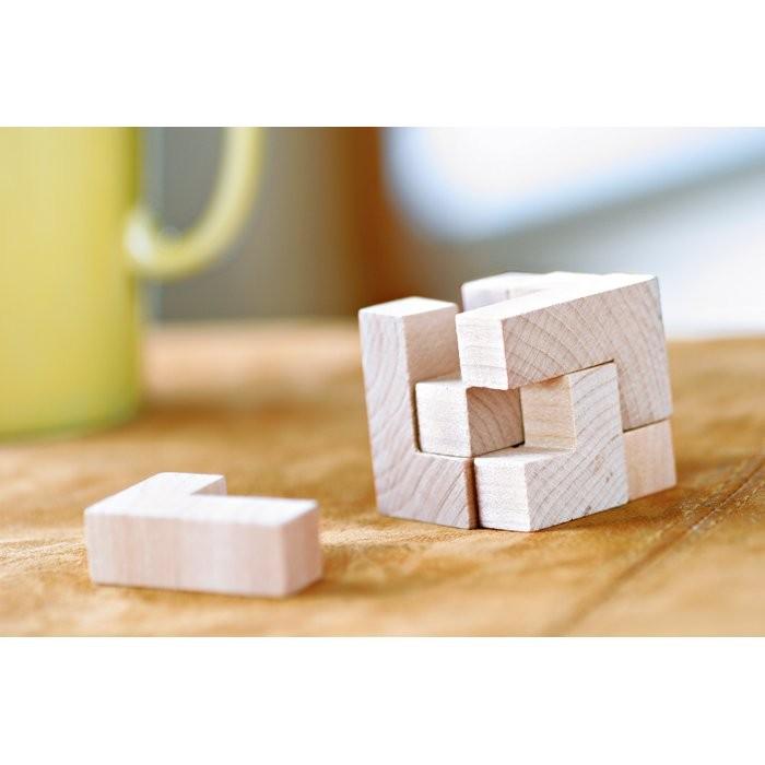 Holzpuzzle im Baumwollbeutel TRIKESNATS