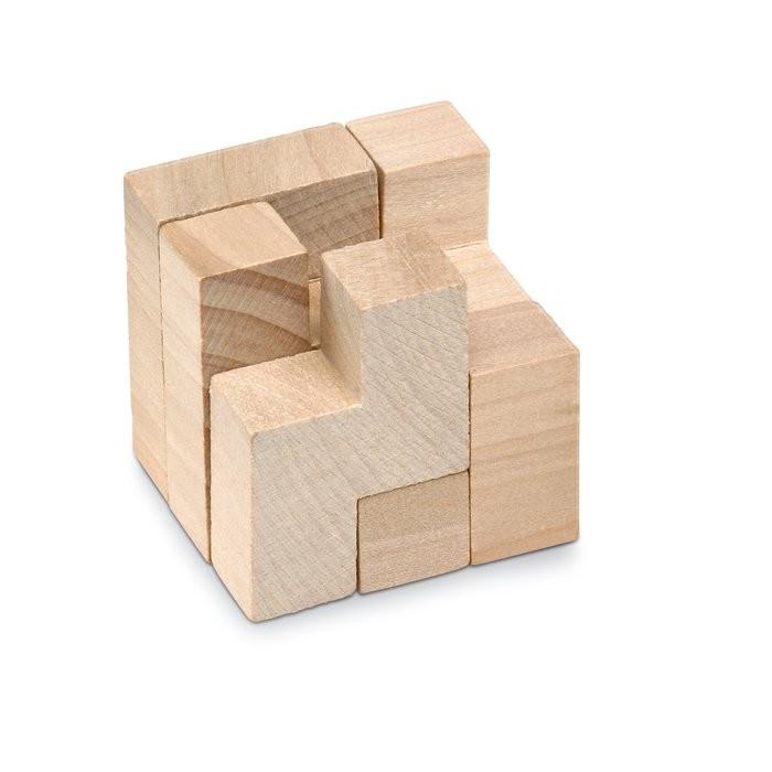 Holzpuzzle im Baumwollbeutel TRIKESNATS, Ansicht 5
