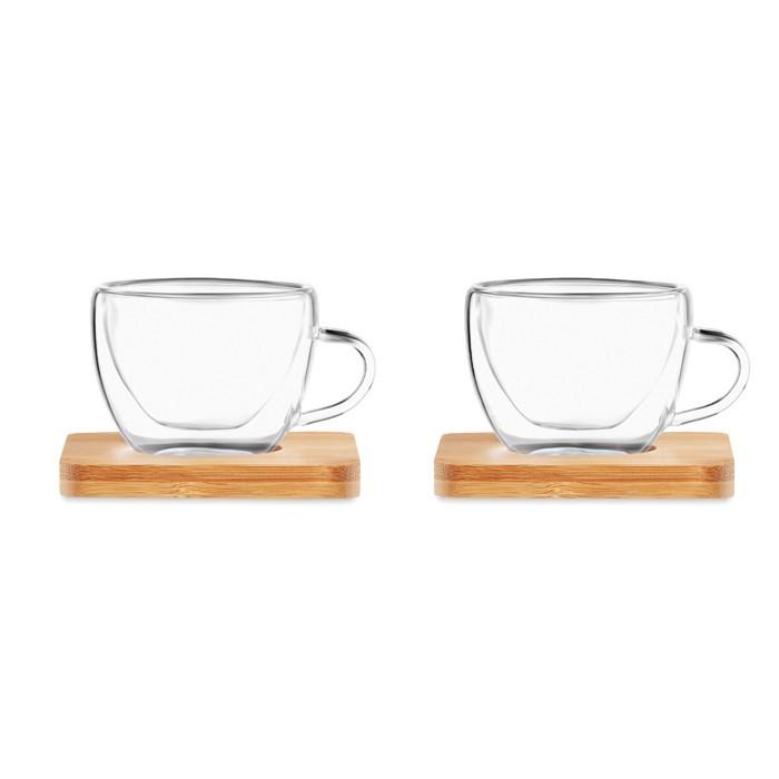 Set mit 2 Espressogläsern BELIZE, Ansicht 4