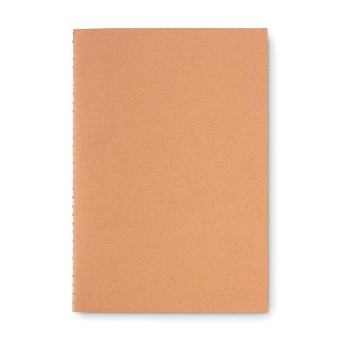 DIN A5 Notizbuch mit Pappcover MID PAPER BOOK, Ansicht 2