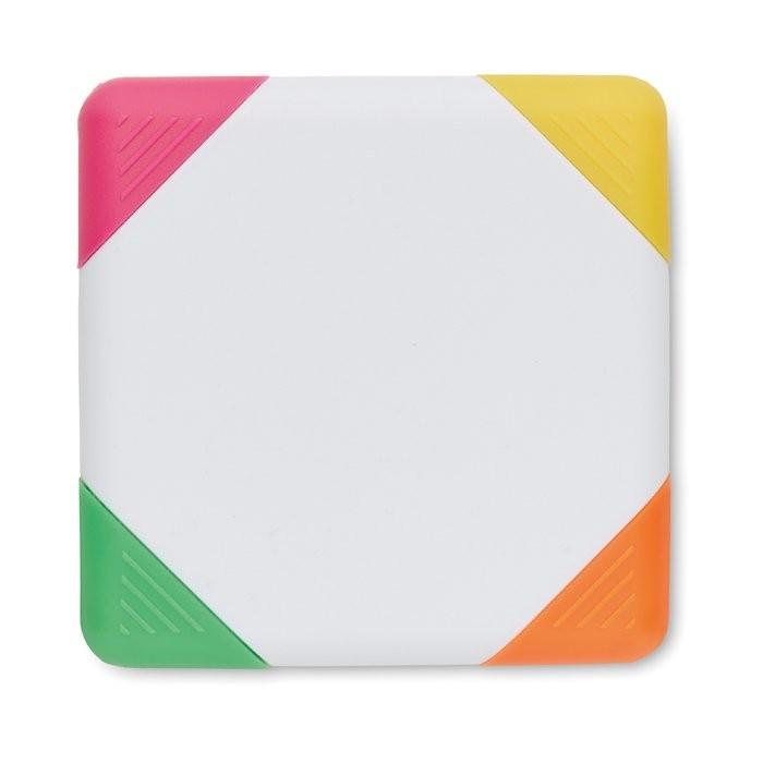 4-Farb-Textmarker SQUARIE