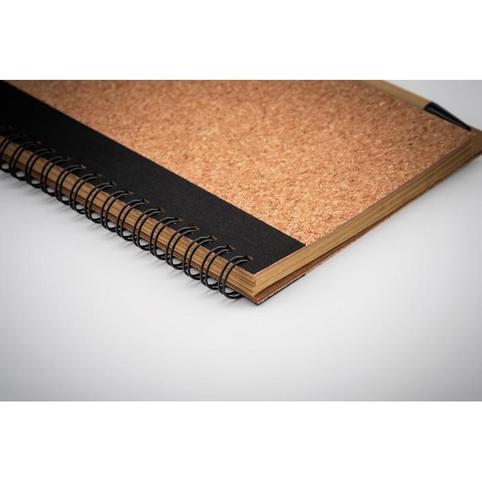 Notizbuch mit Kork-Cover SONORA PLUSCORK, Ansicht 3
