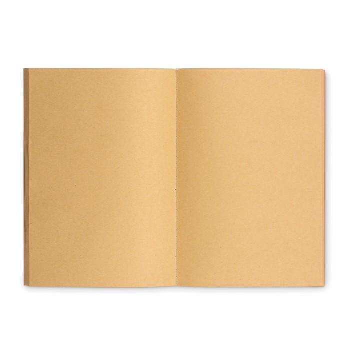DIN A5 Notizbuch mit Pappcover MID PAPER BOOK, Ansicht 4