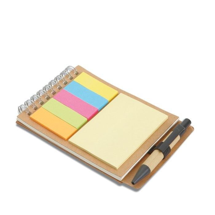 Notizbuch mit Klebezetteln MULTIBOOK