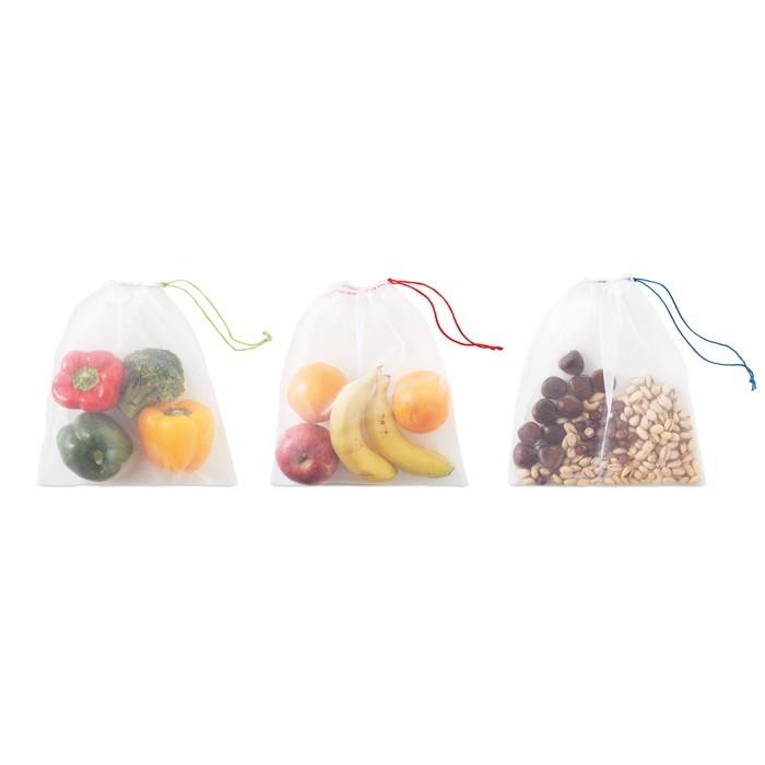 Obst/Gemüsenetze 3teilig VEGGIE SET RPET, Ansicht 4