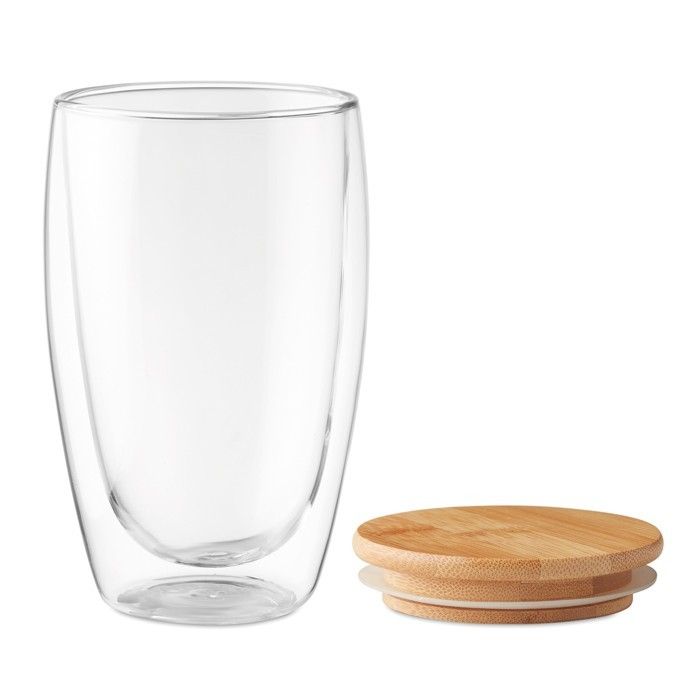 Doppelwandiges Glas 450 ml TIRANA LARGE, Ansicht 2