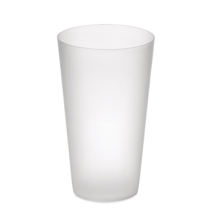 Frosted PP cup 550 ml FESTA CUP