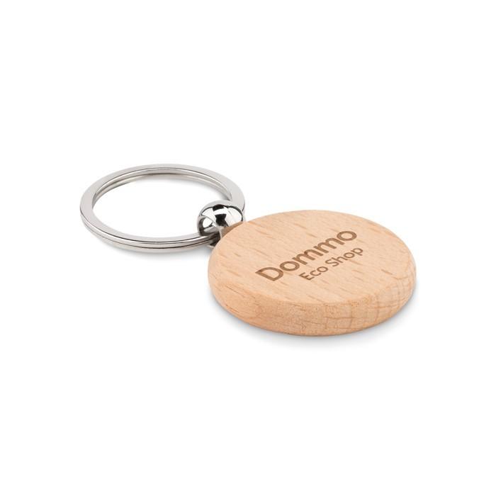 Schlüsselring Holz, rund TOTY WOOD, Ansicht 2