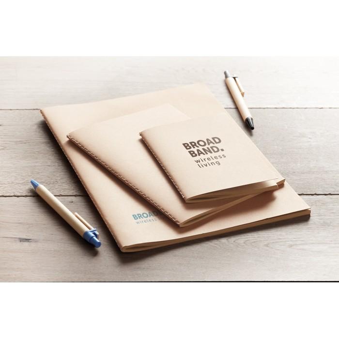 DIN A6 Notizbuch mit Pappcover MINI PAPER BOOK, Ansicht 2