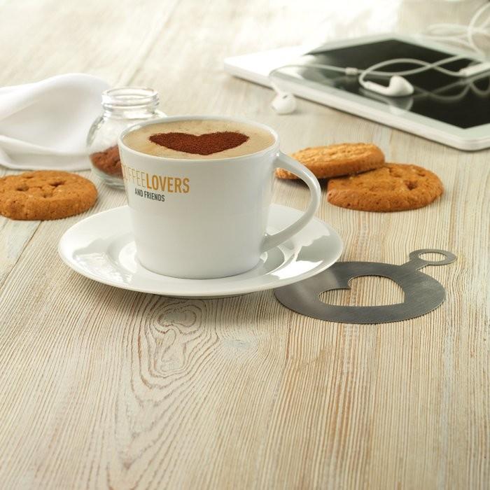 Cappuccino Tasse und Untertasse PARIS, Ansicht 2
