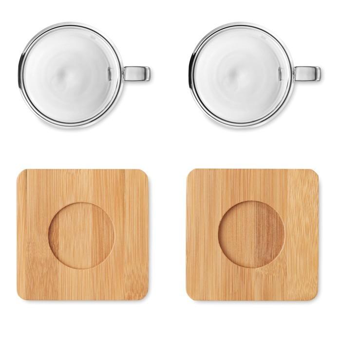 Set mit 2 Espressogläsern BELIZE, Ansicht 7