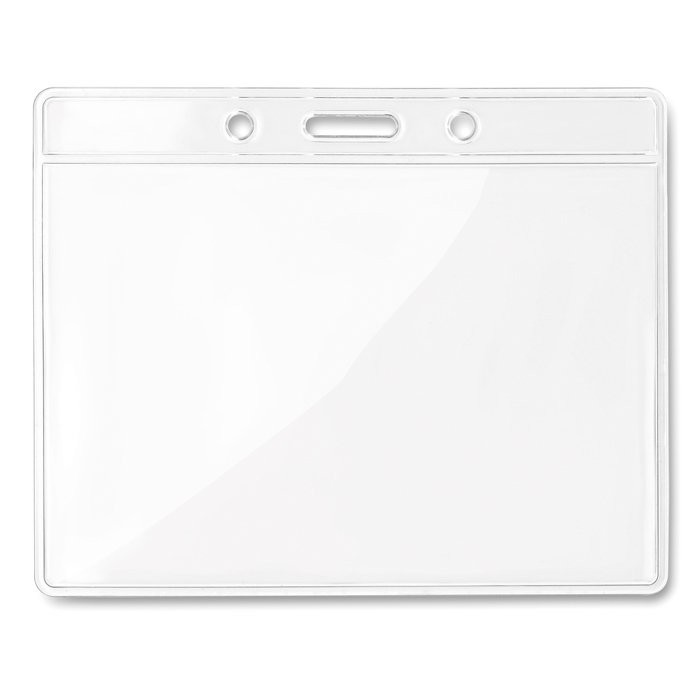 Transparente Kartenhülle BADGY