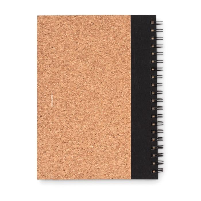Notizbuch mit Kork-Cover SONORA PLUSCORK