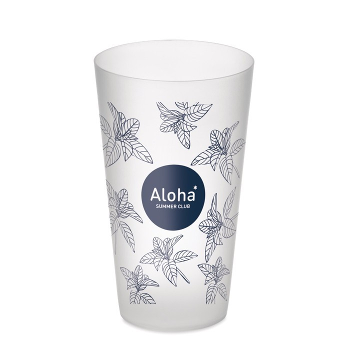 Frosted PP cup 550 ml FESTA CUP, Ansicht 2