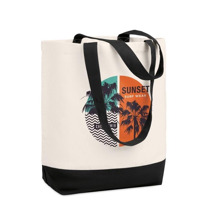 Shopping Tasche Canvas KLEUREN BAG, Ansicht 2
