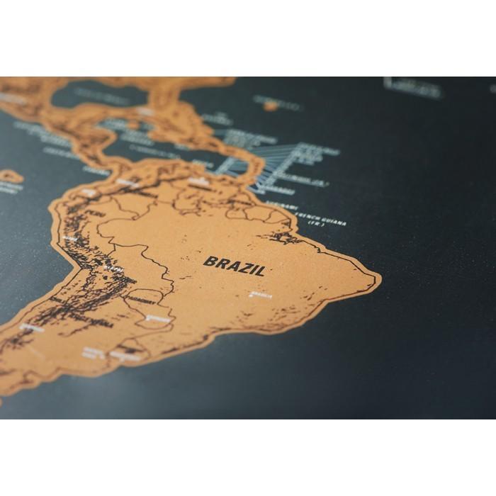Weltkarte zum Freirubbeln BEEN THERE, Ansicht 7