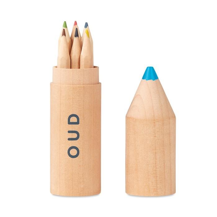 Holzbox mit 6 Stiften PETIT COLORET, Ansicht 4