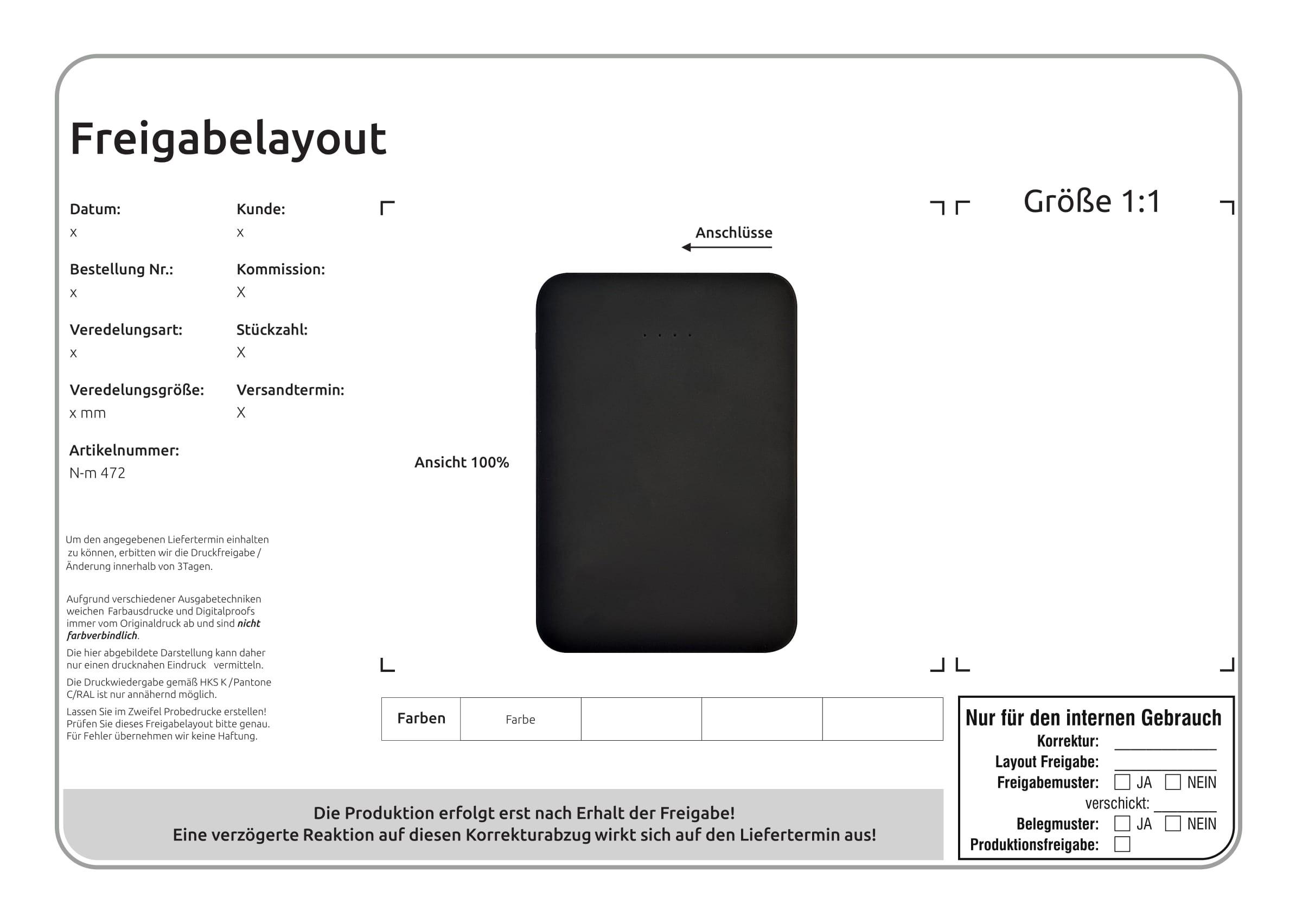 PB 5000 mit USB Type-C, Ansicht 3