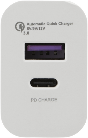 Wallcharger PD 18 W QC3.0