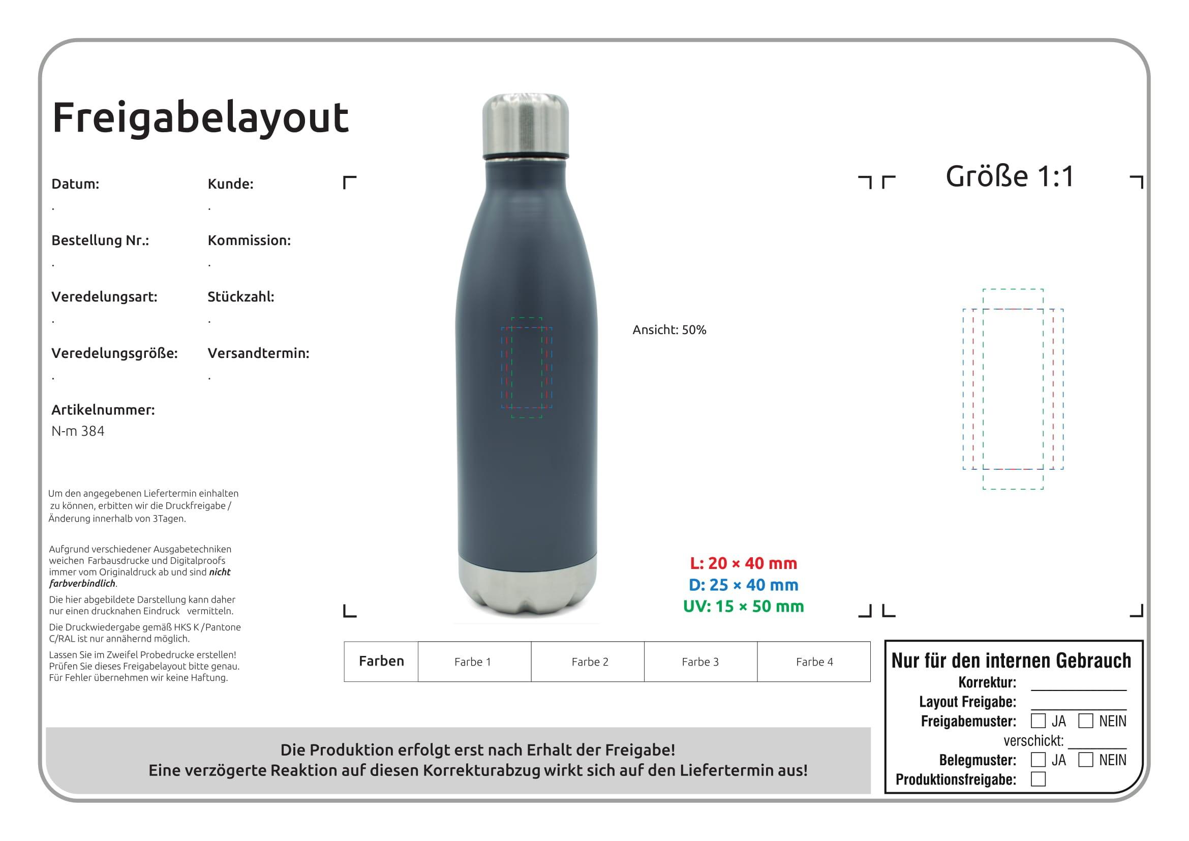Vakuum Flasche, Ansicht 6