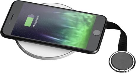 CLIP Smartphone-Ring mit Band, Ansicht 3