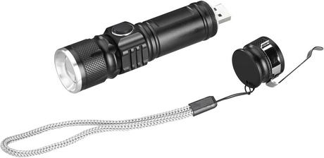 Aufladbare Taschenlampe, Ansicht 3