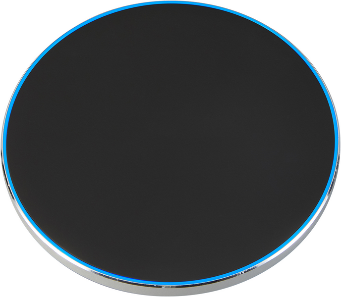 Wireless charger 10 W silber