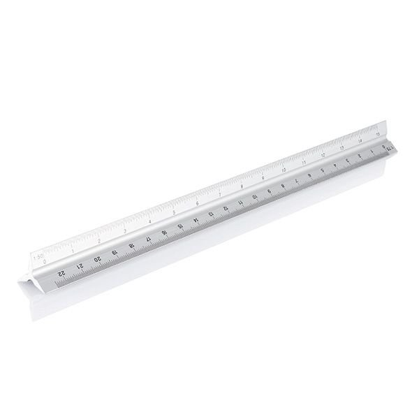 Aluminiumlineal 30 cm, Ansicht 2